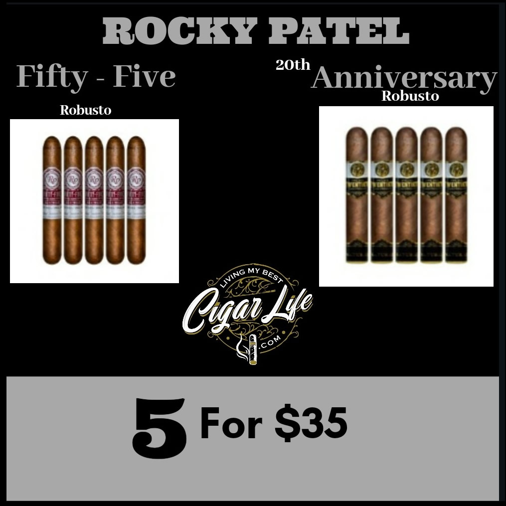 Rocky Patel 5 for $35