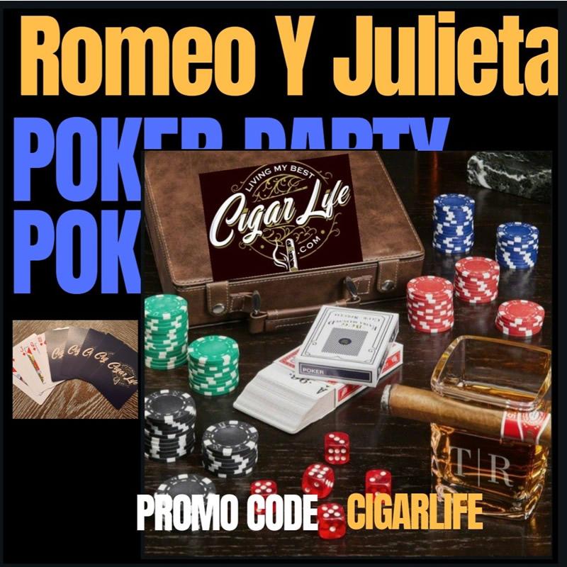 Romeo Y Julieta - Poker Party