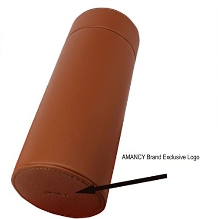 Amancy Brown Leather Case