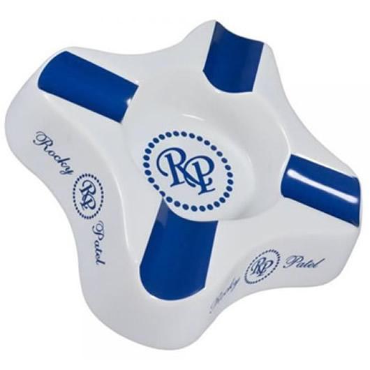 Rocky Patel Ashtray, Suave, Blue-White