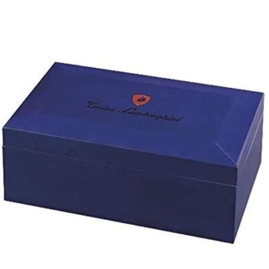 Lamborghini Limited Edition Blue Monte Carlo Cigar Humidor