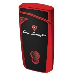 Tonino Lamborghini Magione Black with Red Torch Flame Cigar Lighter